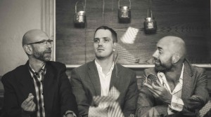 Oscar Grönberg trio bilde, presse
